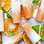 Veronica's Vegan Orange Cream Pops