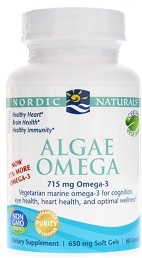 Algae Omega Lemon 60 Softgels
