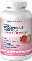 Acidophilus Chewable Strawberry 120 wafers