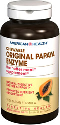 Papaya Enzyme Original Chewable 250 tablets