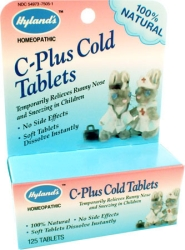 C-Plus Cold Tablets 125ct