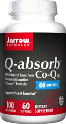 Q-absorb Co-Q10 100mg 60 softgels