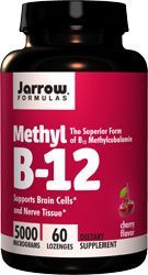 Methyl B12, Methylcobalamin, 5000 mcg