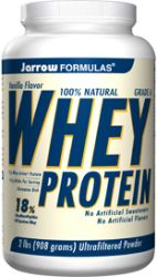 Whey Protein Vanilla Flavored Powder 2lb (908g)