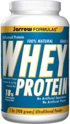 Whey Protein All Natural Unflavored 2lb (908g)
