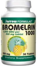 Bromelain 1000 500mg 30 tablets