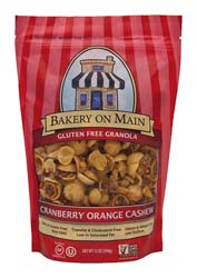 Gluten Free Granola - Cranberry Orange Cashew