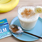CALM Connection: Relaxing Almond Banana Smoothie