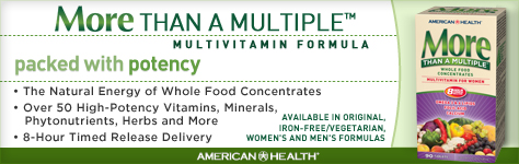 vital choice health store specializes in providing the most effective, reliable, natural health products and information